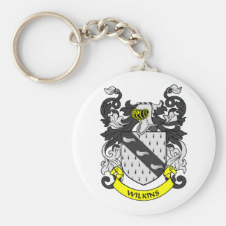 WILKINS Coat of Arms Keychain