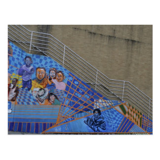 Wilkinsburg Mural at the Station Post Card