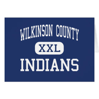 Wilkinson County Indians Middle Irwinton Card