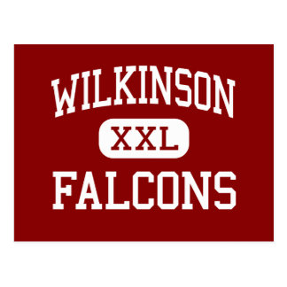 Wilkinson - Falcons - centro - Madison Heights Postales