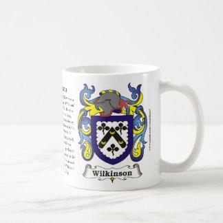 Wilkinson Family Coat of Arms Mug