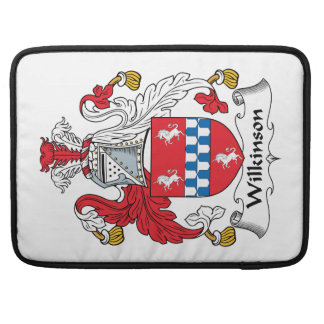 Wilkinson Family Crest MacBook Pro Sleeve