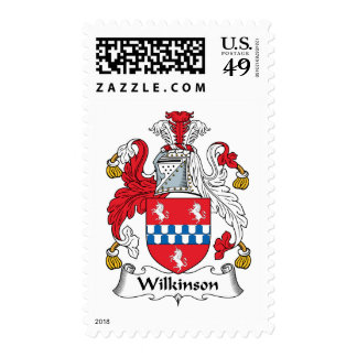 Wilkinson Family Crest Postage Stamp