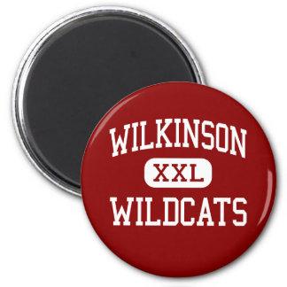 Wilkinson - Wildcats - Middle - Mesquite Texas Refrigerator Magnet