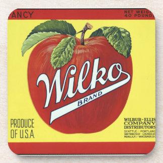 Wilkko vintage brand beverage coaster