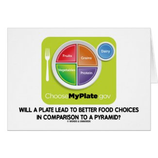 Will A Plate Lead To Better Food Choices Pyramid Cards