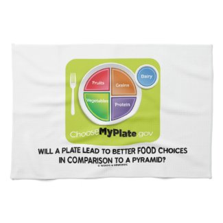 Will A Plate Lead To Better Food Choices Pyramid Towel