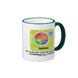 Will A Plate Lead To Better Food Choices Pyramid Mug