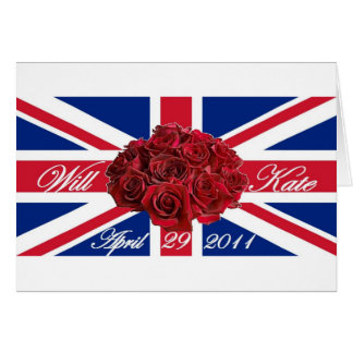 Will and Kate 2011 Limited Edition Commemorative Card