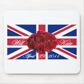 Will and Kate 2011 Limited Edition Commemorative Mouse Pad