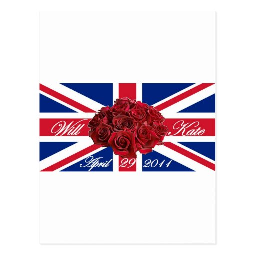 Will and Kate 2011 Limited Edition Commemorative Postcard