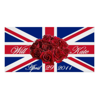 Will and Kate 2011 Limited Edition Commemorative Posters