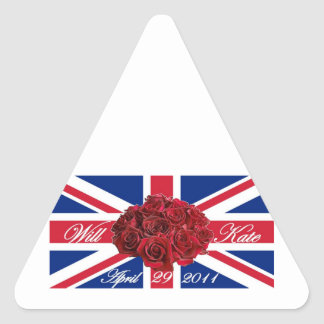 Will and Kate 2011 Limited Edition Commemorative Sticker