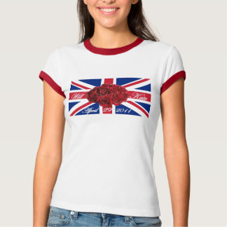 Will and Kate 2011 Limited Edition Commemorative T-Shirt
