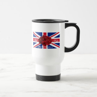 Will and Kate 2011 Limited Edition Commemorative Travel Mug