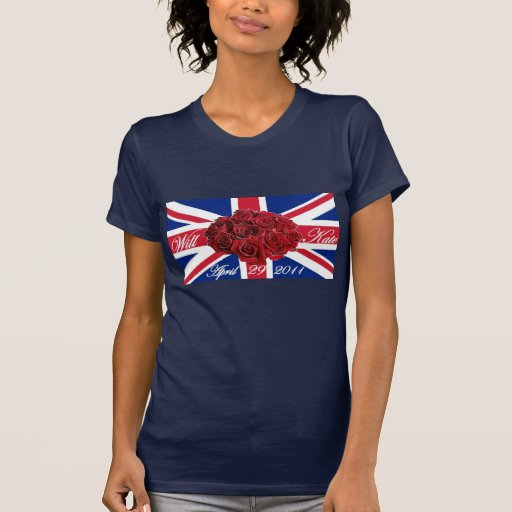 Will and Kate 2011 Limited Edition Commemorative T Shirts