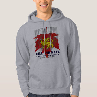 Will And Kate CANADA Tour Hoodie