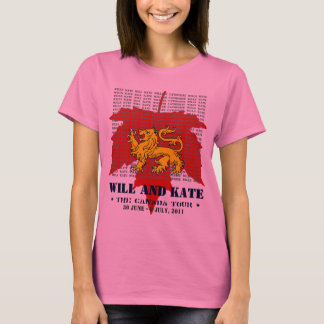 Will And Kate CANADA Tour Women's T-Shirt