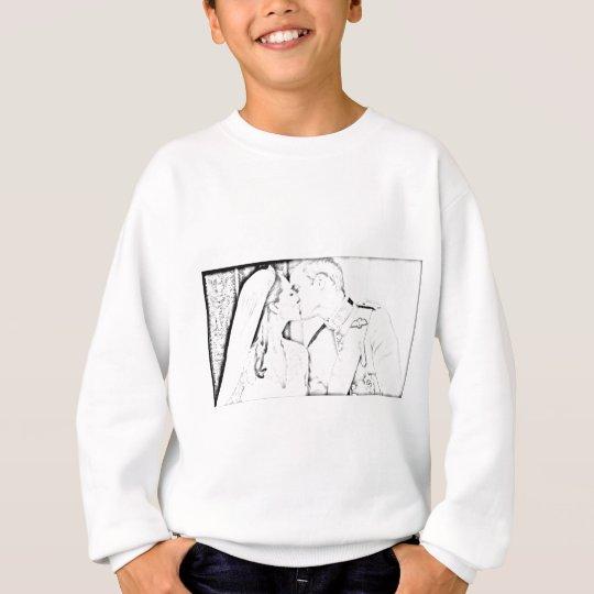 Will and Kate kiss Sweatshirt