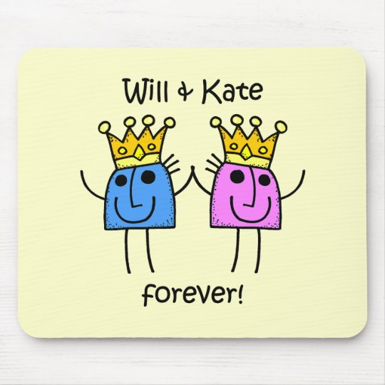 Will and Kate Mouse Pad