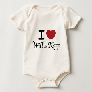 Will and Kate Royal Wedding Baby Jumper Baby Bodysuit