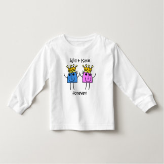 Will and Kate Toddler T-shirt
