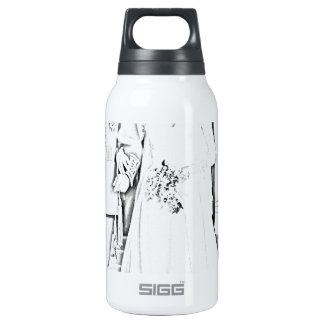 Will and kate wedding insulated water bottle
