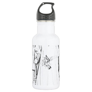 Will and kate wedding stainless steel water bottle
