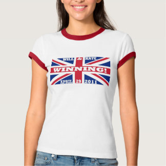 Will and Kate Winning T-shirt
