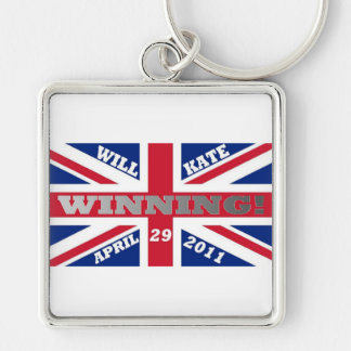 Will and Kate Winning Wedding Keychain