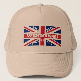 Will and Kate Winning Wedding Trucker Hat
