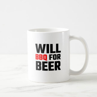 Will BBQ For Beer Coffee Mug
