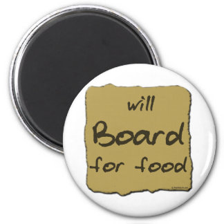 Will Board For Food Magnet