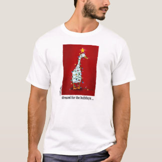 """Will Bullas Christmas tee """"dressed for the holiday"""