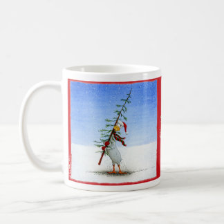 "Will Bullas coffee mug ""just needs tinsel..."""