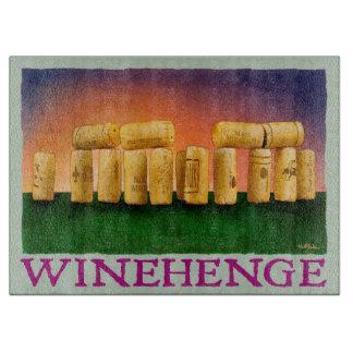 "Will Bullas cutting board ""Winehendge"""