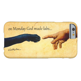 "Will Bullas iphone cover ""on Monday God made labs"""