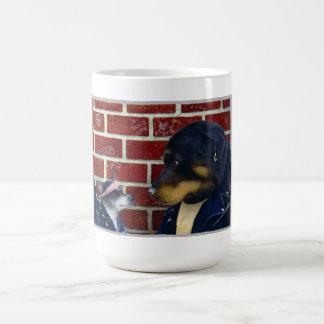 """Will Bullas mug """"bad doggies"""""""