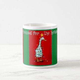 """Will Bullas mug """"dressed for the holidays..."""""""