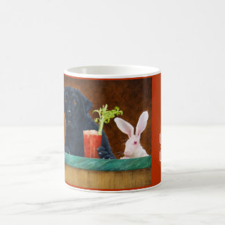 "Will Bullas mug ""hare of the dog"""