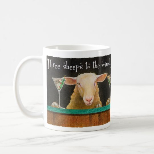 "Will Bullas mug ""three sheeps to the wind"""