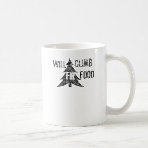 Will Climb Fir Food Mugs