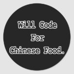 will code for chinese food stickers