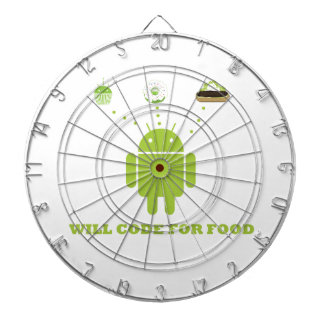 Will Code For Food Android Software Developer Dartboards