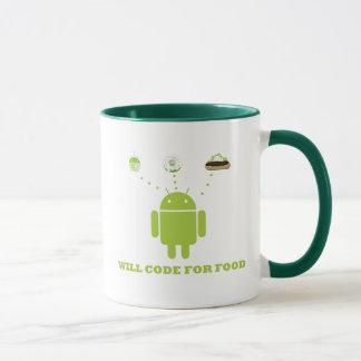 Will Code For Food (Android Software Developer) Mug