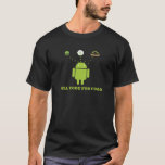 Will Code For Food (android Software Developer) T-shirt at Zazzle