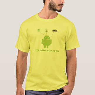 Will Code For Food (Android Software Developer) T-Shirt