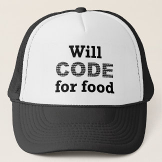 Will Code For Food Hat