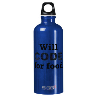Will Code For Food Liberty Bottle