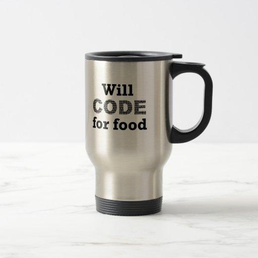 Will Code For Food Mug